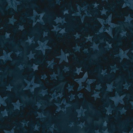 Tonga Freedom Stars of All Sizes B7839 Blue