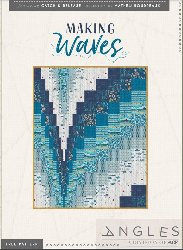 Free Pattern Making Waves  by Mister Domestic and AGF