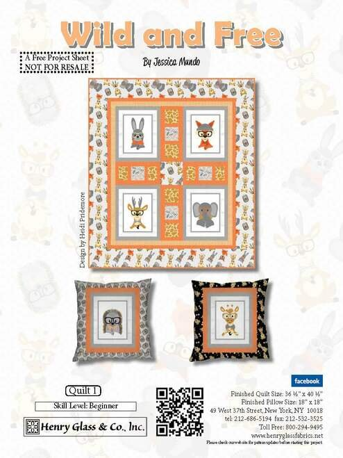 Free Pattern - Wild & Free Quilt Pattern
