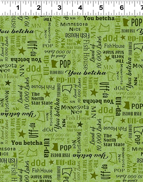 Quilt Minnesota Shop Hop 2020 - Words Olive