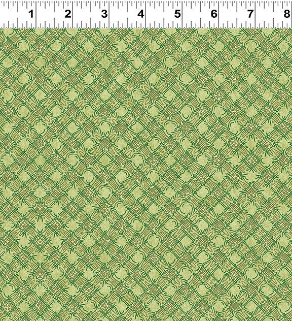 Quilt Minnesota Shop Hop 2020 - Diagonal Plaid Olive