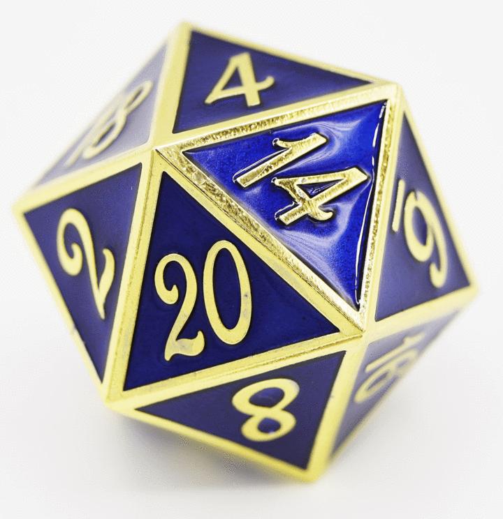 Gold Metal D20