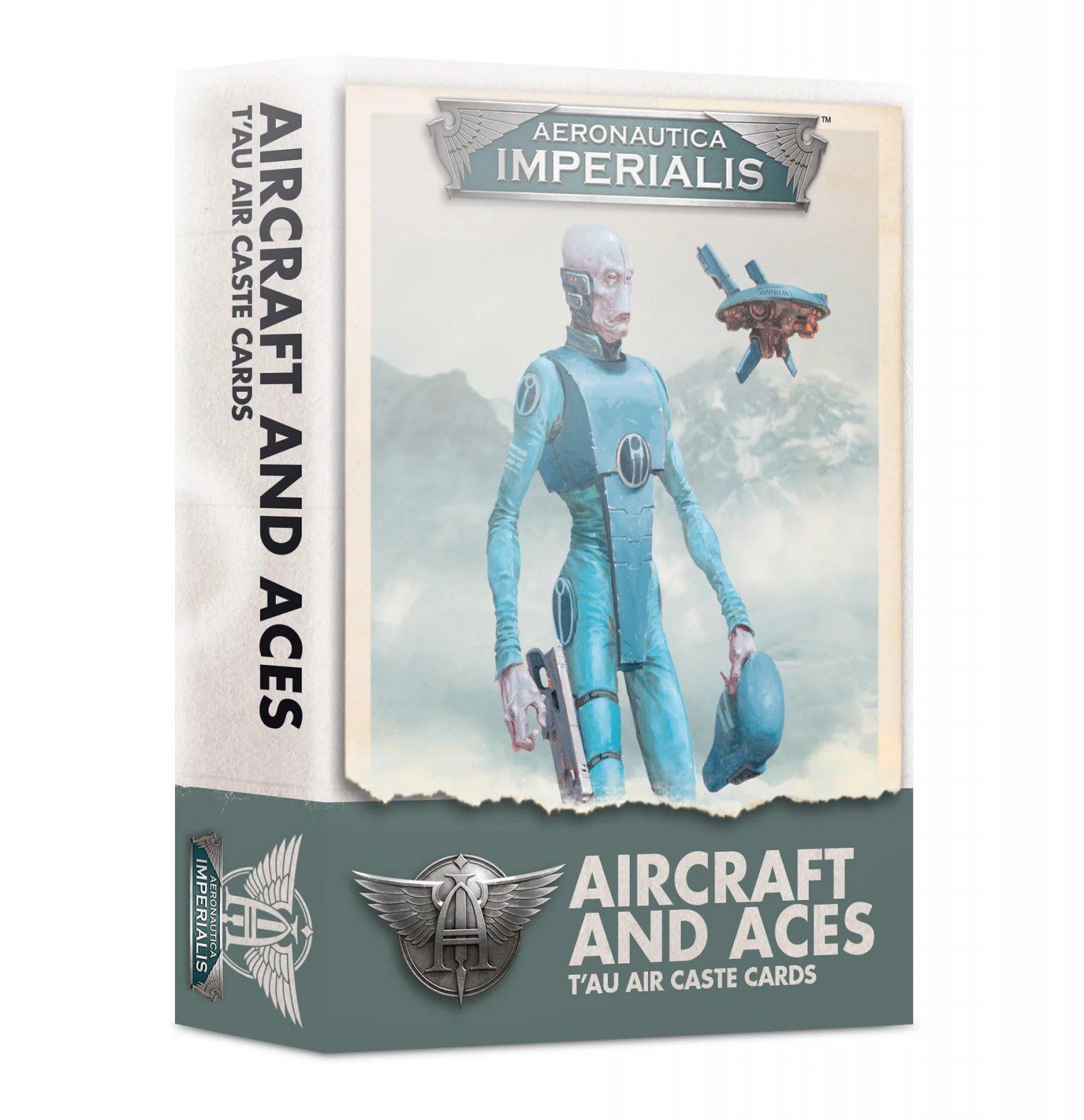 Aeronautica Imperialis: Aircraft & Aces T'Au Air Caste Cards