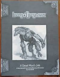 A Dead Man's Job