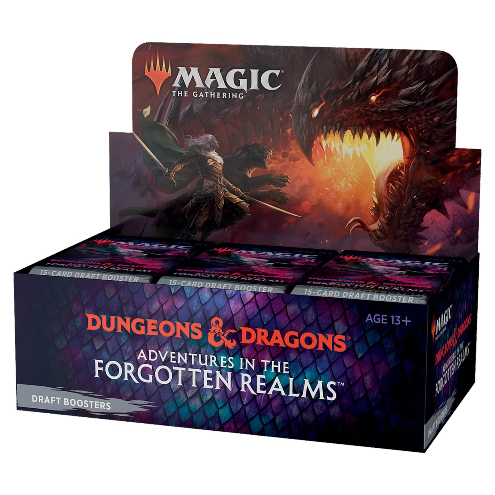 Magic the Gathering CCG Adventures in the Forgotten Realms Booster Boxes