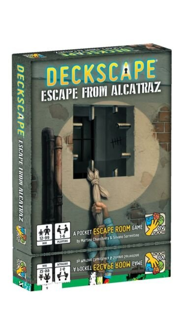Deckscape Escape fro Alcatraz