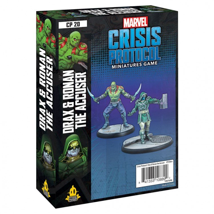 Marvel Crisis Protocal Drax and Ronan the Accuser