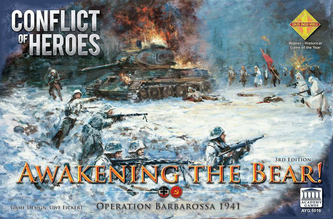 Conflict of Heroes Awakening the Bear - Operation Barbarosa 1941 Third Edition