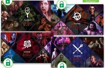 Vampire the Masquerade Rivals ECG Clan Playmat