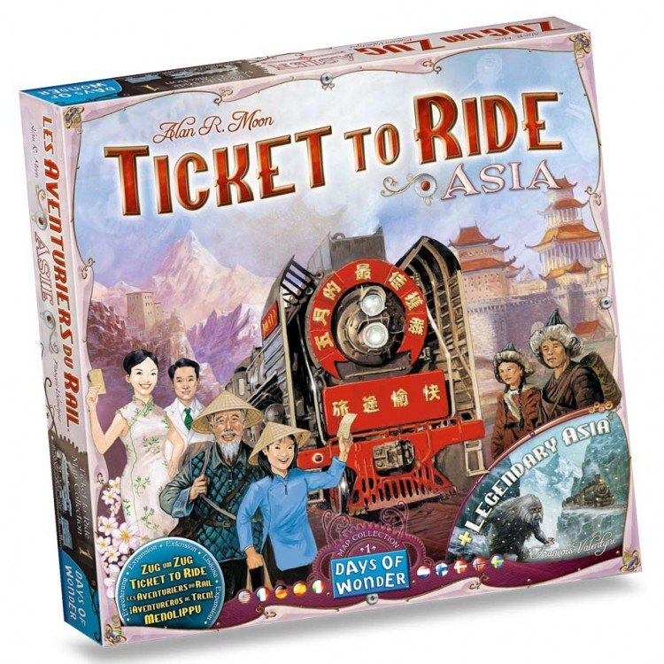 Ticket to Ride: Asia Map Collection 1