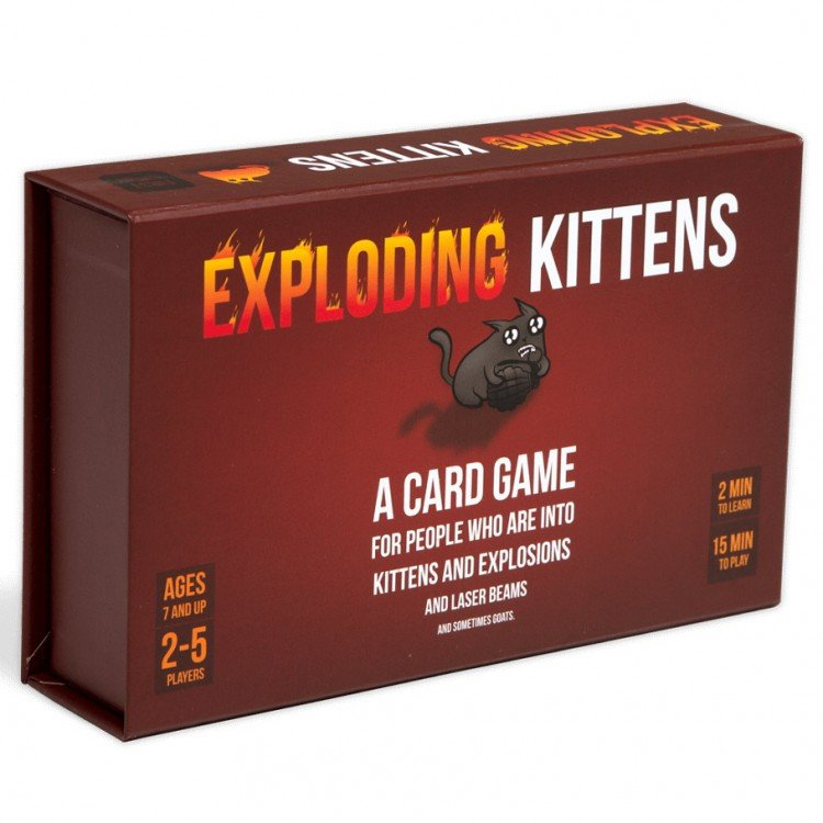 Exploding Kittens: First Edition