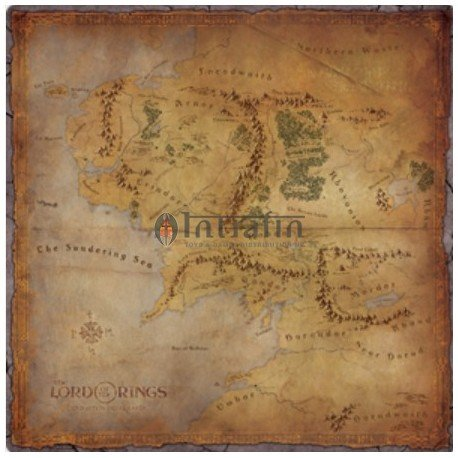 Lord of the Rings Journey in Middle-earth Playmat