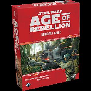 Star Wars RPG Age of Rebellion Beginner Box