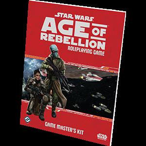 Star Wars RPG Age of Rebellion Game Master Kit