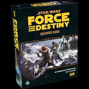 Star Wars RPG Force & Destiny Beginner Box