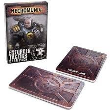 NECROMUNDA ENFORCER TACTICS CARDS