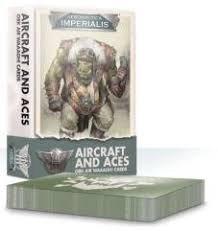 Aeronautica Imperialis: Aircrft & Aces: Ork Air Waaagh! Cards