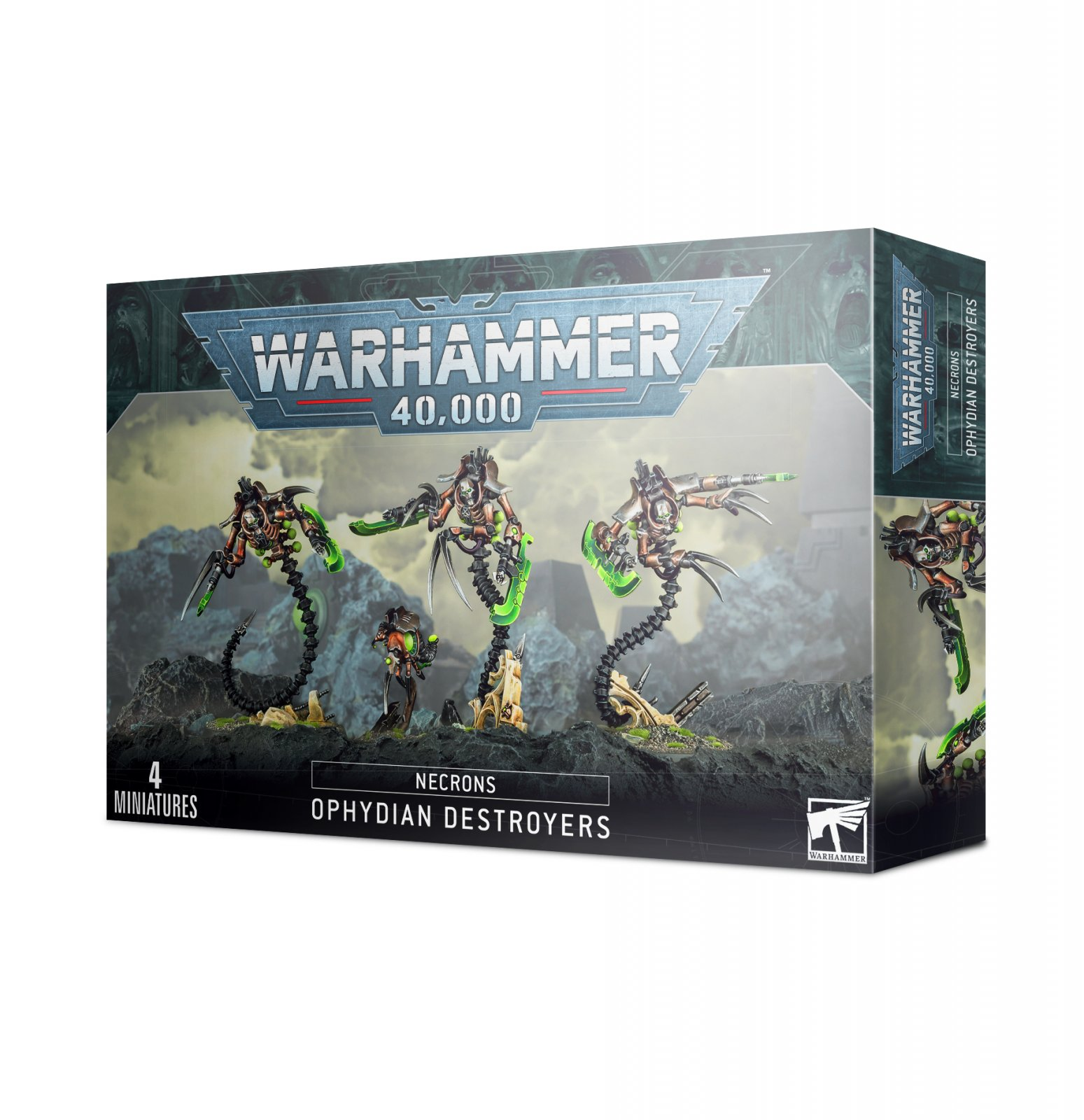 NECRONS OPYDIAN DESTROYERS