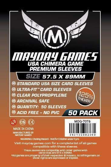 Mayday Chimera Board Game Sleeves