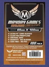 Mayday Magnum Purple  Board Game Sleeves