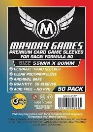 Mayday Race! Formula 90 Board Game Sleeves