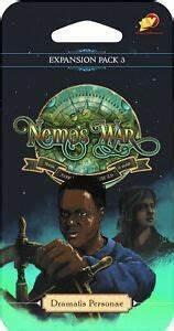 Nemo's War Dramatis Personae