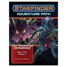 Starfinder RPG The Threefold Conspiracy Adventure Path