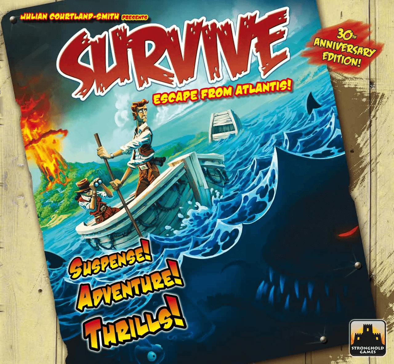Survive Escape From Atlantis 30th Aniversary Edition