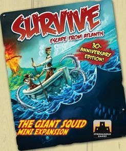 Survive: Escape from Atlantis - The Giant Squid Expansion