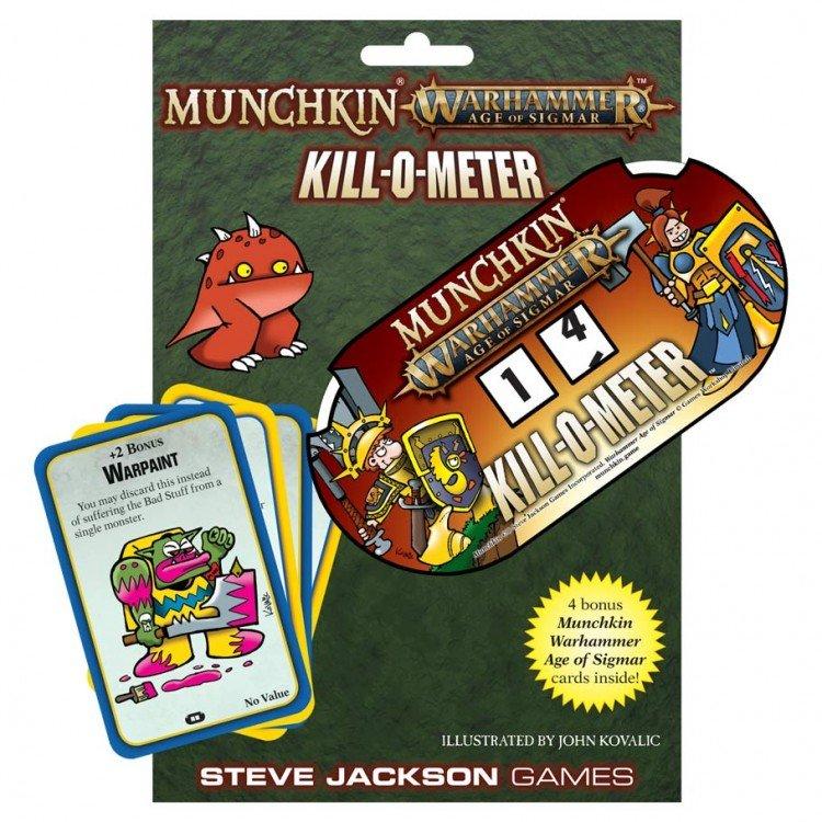 Munchkin Warhammer Age of Sigmar Kill-O-Meter