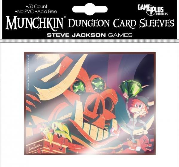 Munchkin Dungeon Board Game Sleeves