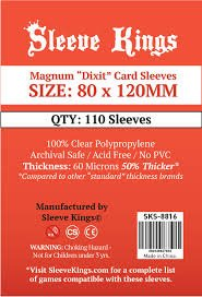 Sleeve Kings Magnum Dixit Board Game Sleeves