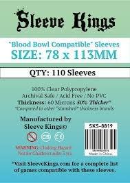Sleeve Kings Blood Bowl Board Game Sleeves