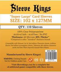 Sleeve Kings Super Large Board Game Sleeves