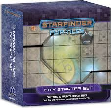Starfinder Flip-Tiles City Starter Set