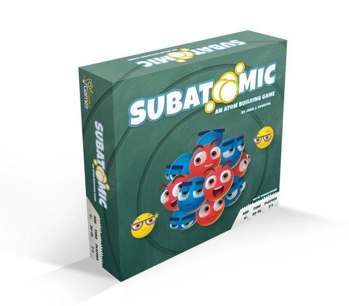 Subatomic: An Atom Building Game 2nd Ed