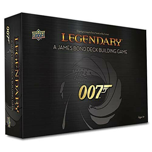 Legendary Deck Building Game 007 James Bond