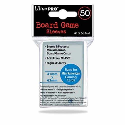 Ultra Pro Mini American Board Game Sleeves