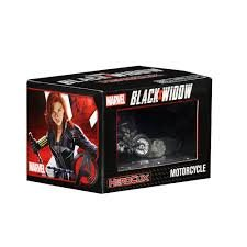 Marvel HeroClix Black Widow Movie - Black Widow with Motorcycle