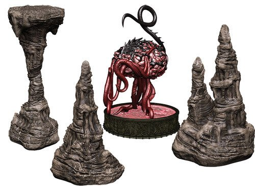 D&D Icons of the Realms Miniatures: Volo & Mordenkainen's Foes - Elder Brain Premium Set