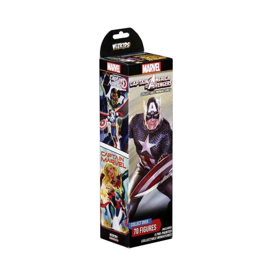 Marvel HeroClix: Captain America and the Avengers
