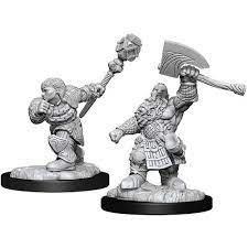 Dwarf Fighter & Dwarf Cleric