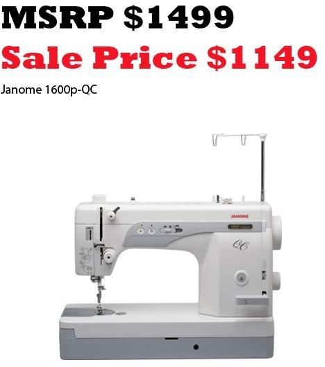 Janome 1600PQC