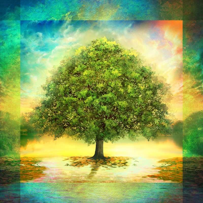 Tree of Life Panel - Spring