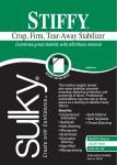 Stiffy Firm Tear-Away Stabilizer White 20in x 1yd