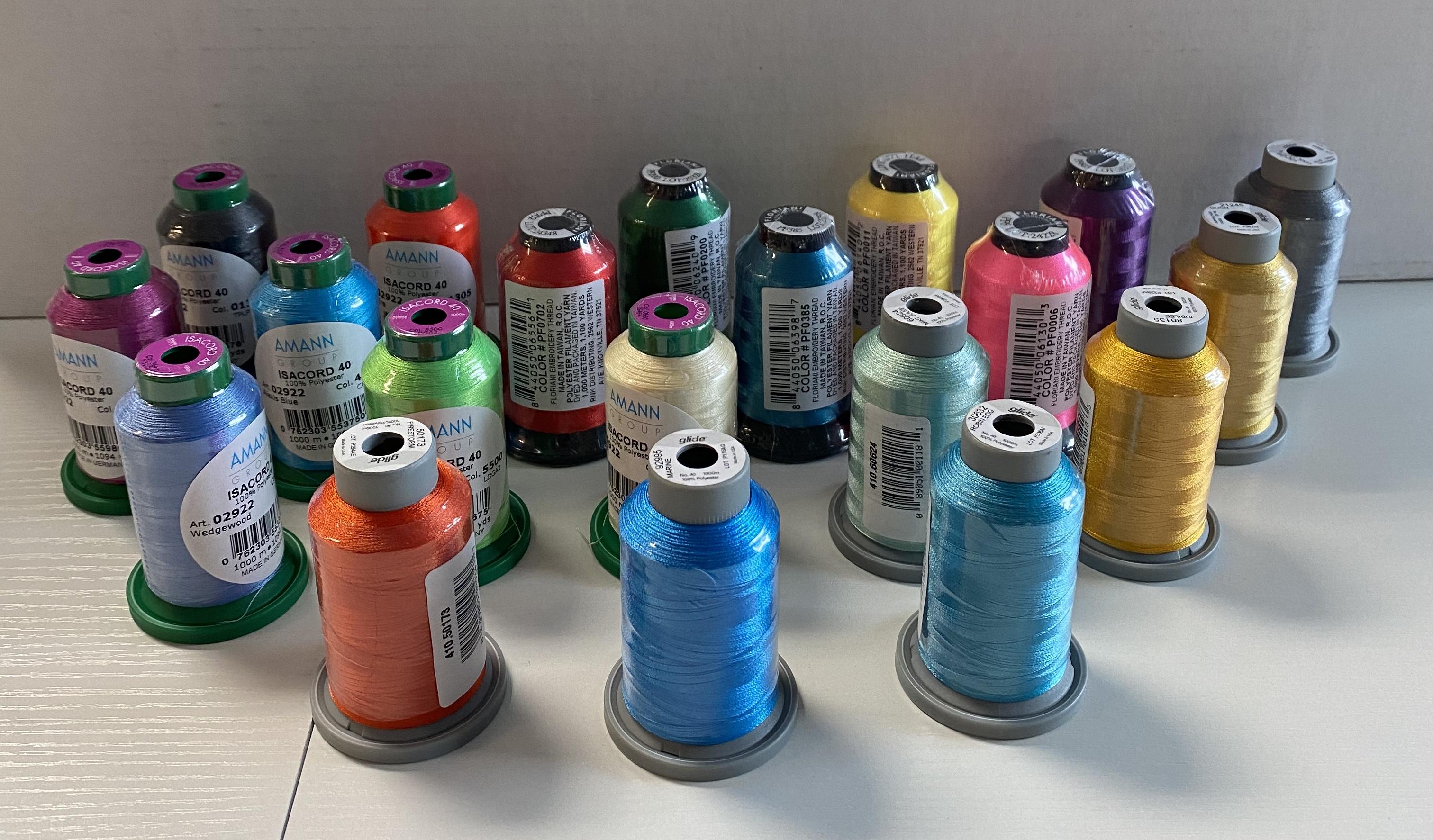 Thread Bundle - 20 Random Colors