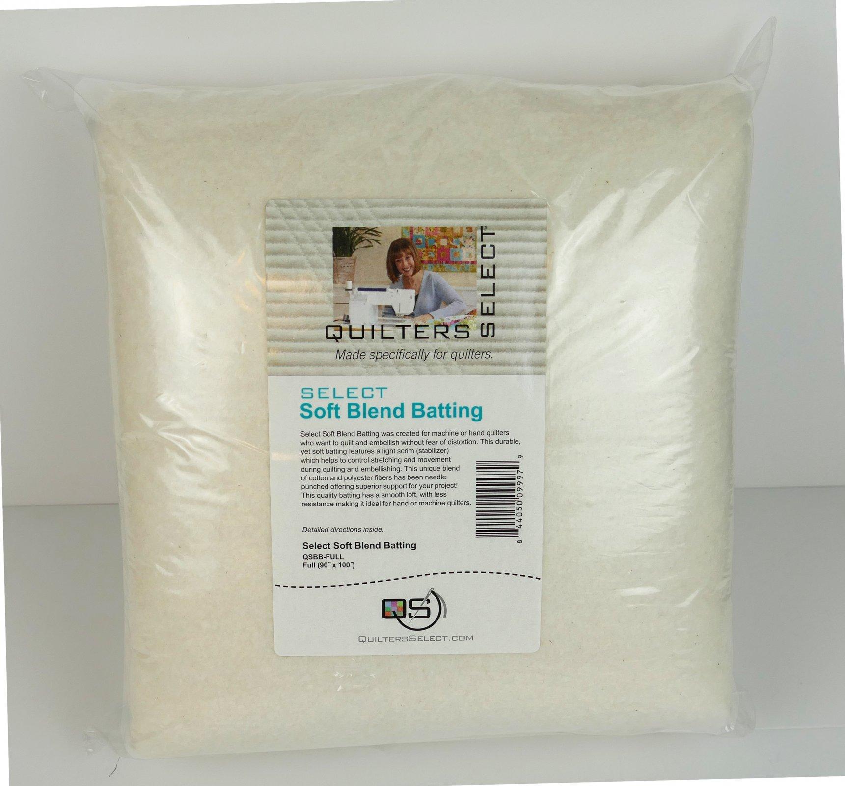 Select Blend Batting 93 x 100 - Full Cut - NEW SIZE!