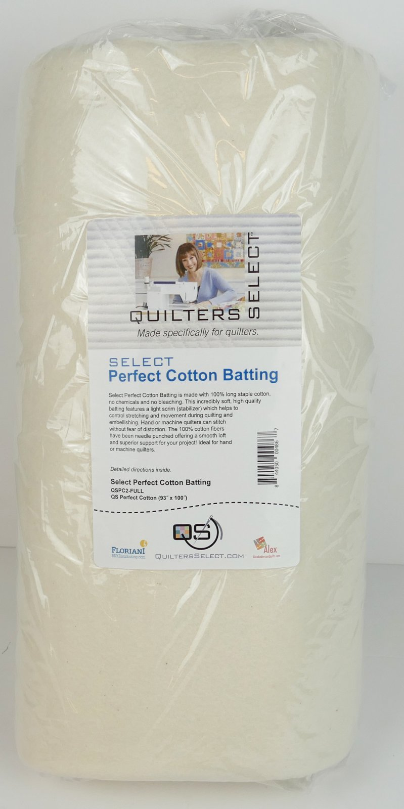 Select Perfect Cotton 93 x 100 - Full  Cut - NEW SIZE!