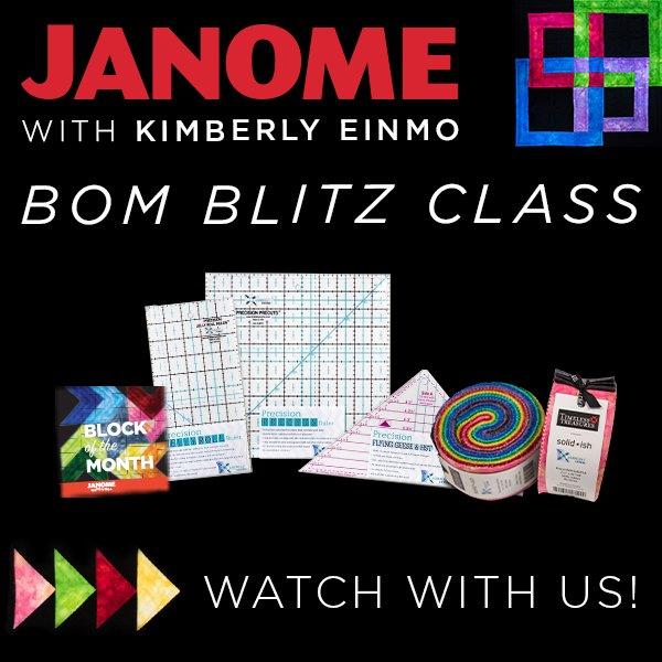 Janome Kimberly Einmo BOM Kit