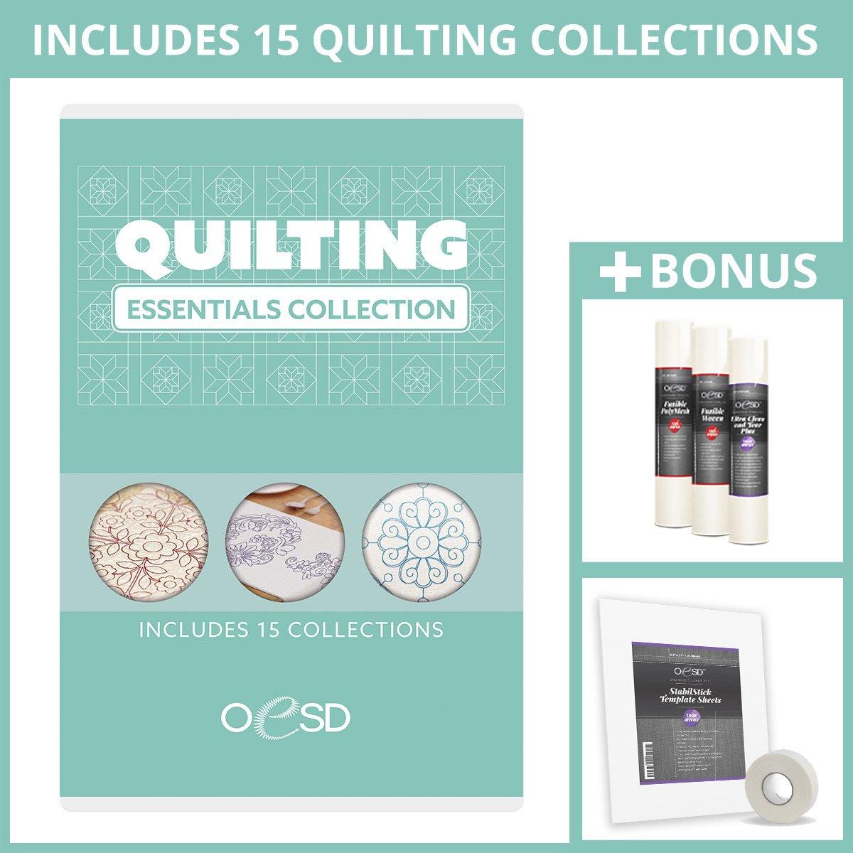 Quilting Essentials Plus Bonus